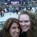 Cara & TLC at Soldier Field for Kid Rock / Bon Jovi concert