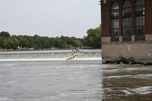 Rock River in Dixon, IL