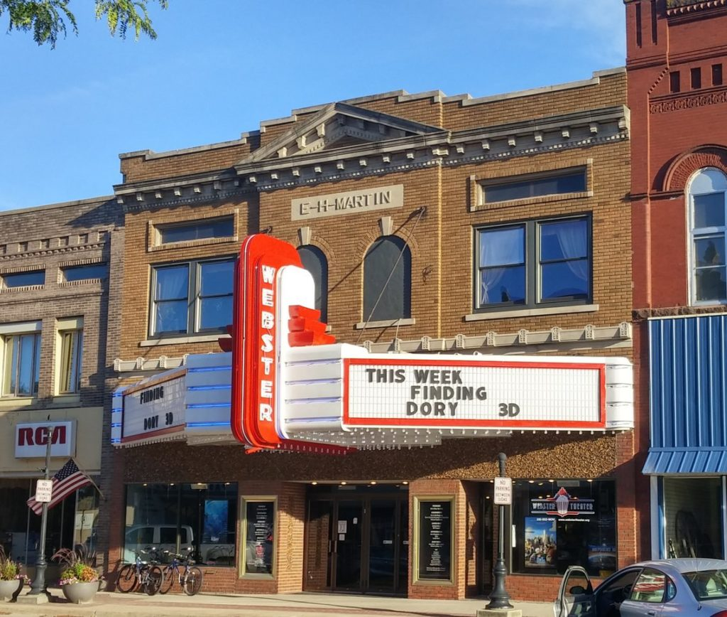 Webster Theater, Webster City, Iowa
