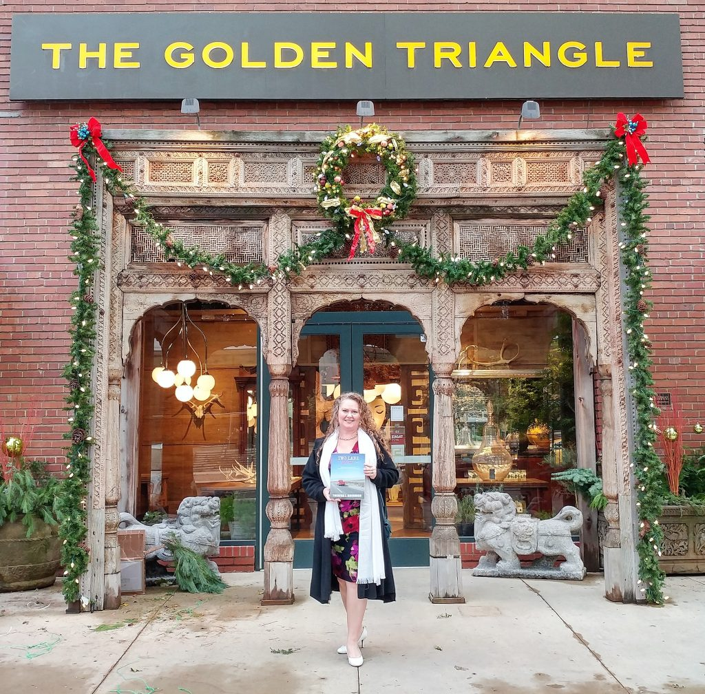 Two Lane Gems Book Signing at The Golden Triangle in downtown Chicago